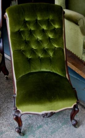 Victorian Slipper Chair C1880