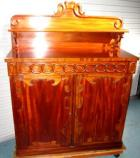 Very Unusual Cedar Chiffonier with Quality Carving C1880 Very Unusual Cedar Chiffonier with Quality Carving C1880