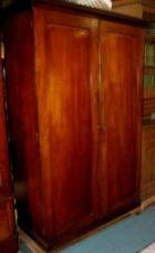Early Cedar 2 Door Robe C1860 fitted interior Early Cedar 2 Door Robe C1860 fitted interior