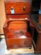 Rare Cedar Commode in the Style of a chest of drawers C1860 Rare Cedar Commode in the Style of a chest of drawers C1860